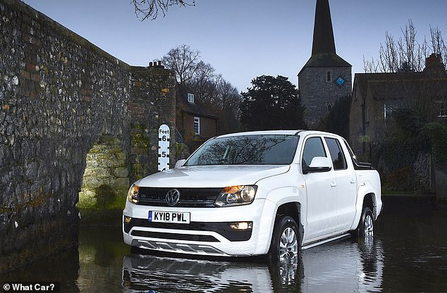 The VW Amorak won pick-up of the year. The demand for vehicles of this type is growing in the UK