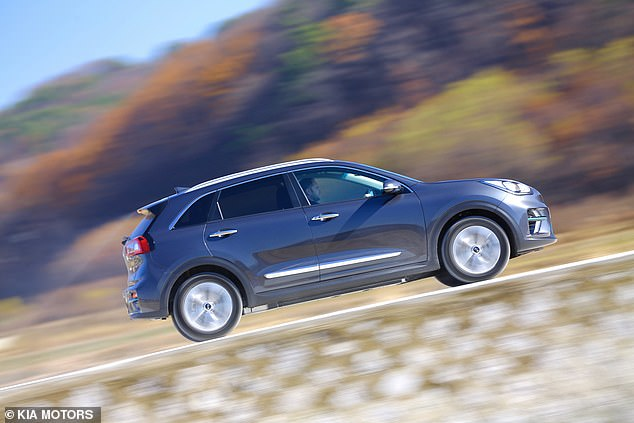 The Car of the Year Kia e-Niro - which also won electric car of the year - was praised for its long-range and relatively low cost compared to more mainstream rivals