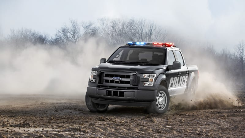 2016 Ford F-150 Special Service Vehicle is ready for patrol