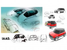 FIAT Panda Design Contest by IAAD: the winners